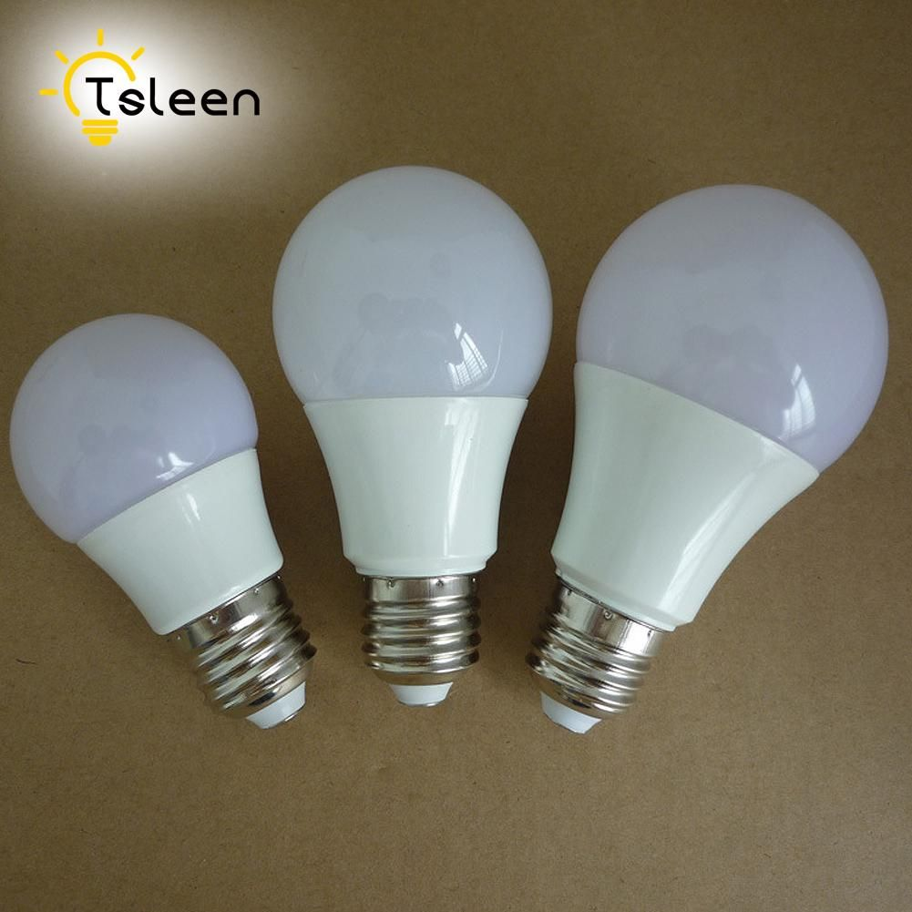 10pcs Wholesale E27 Led Bulb Lamp 220v Led 3w 5w 7w 9w 12w Led Light Bulb 110v 230v Lampara Bombilla Ampoule Spotlight Smd 5730 With Images Led Bulb Bulb Corridor Lighting
