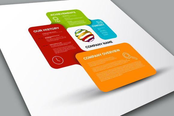 Company Profile Template – Profile Company Template