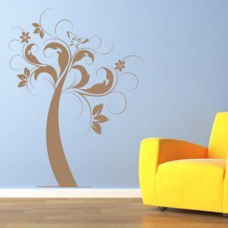 Наклейка по тематике от 2stick.ru.Сказочное дерево с ...