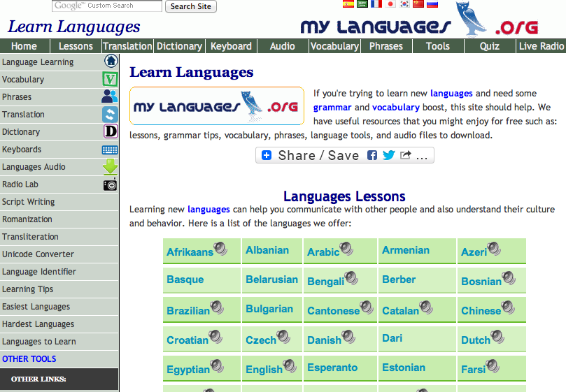 Learn languages: Spanish, French, German and start for ...