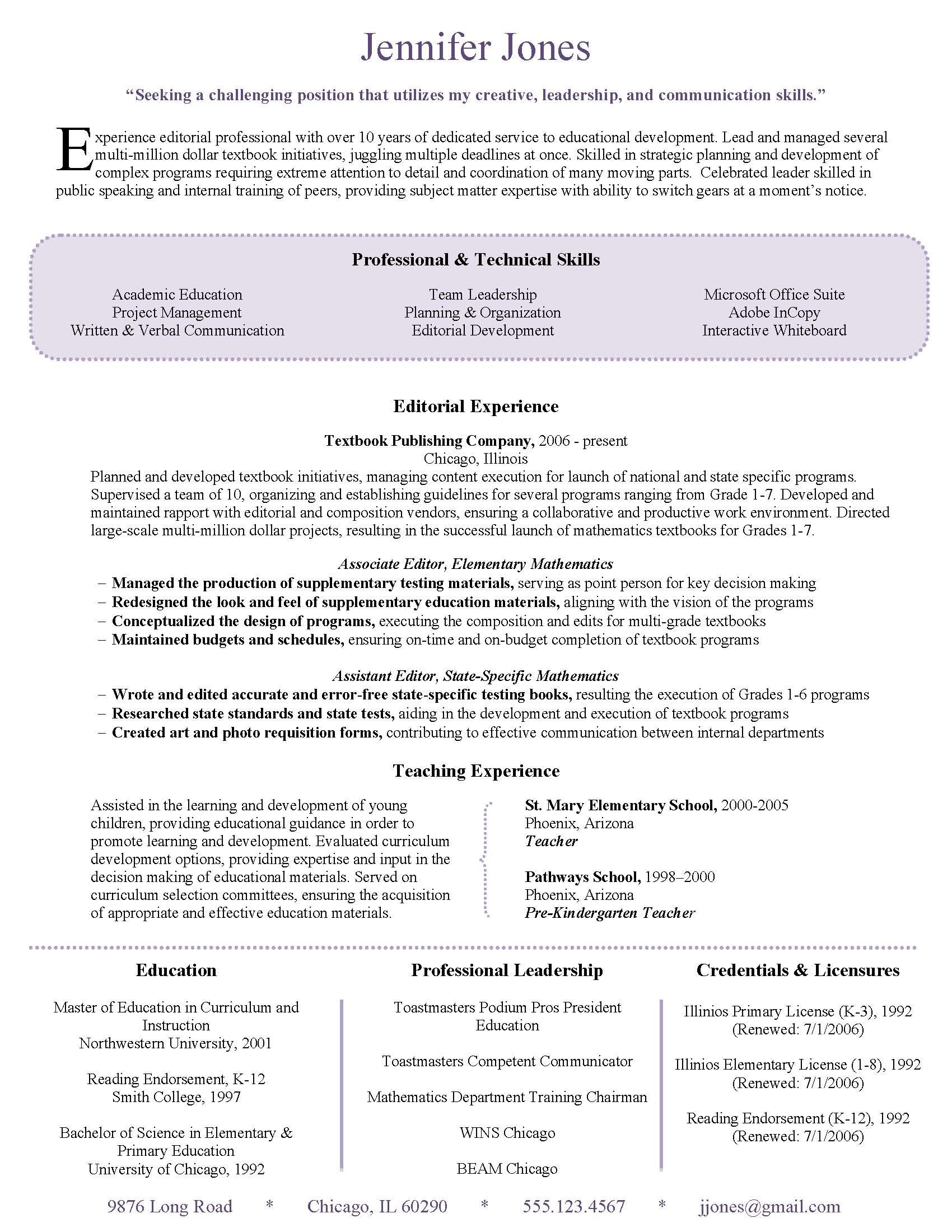 Resume Sample  Perfect For Someone Interested In Improving The