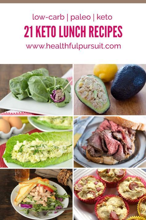 21 Keto Lunches (low-carb, paleo + keto) -