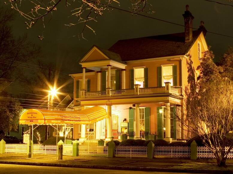 La Maison On Telfair Augusta Ga Fine Dining In A Converted Mansion Good For Impressing A Date Mansions Fine Dining Restaurant House Styles