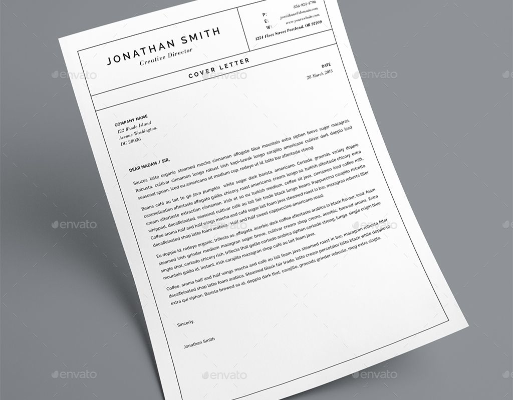 Clean Resume Template | Resumes | Resume, Resume templates, Templates