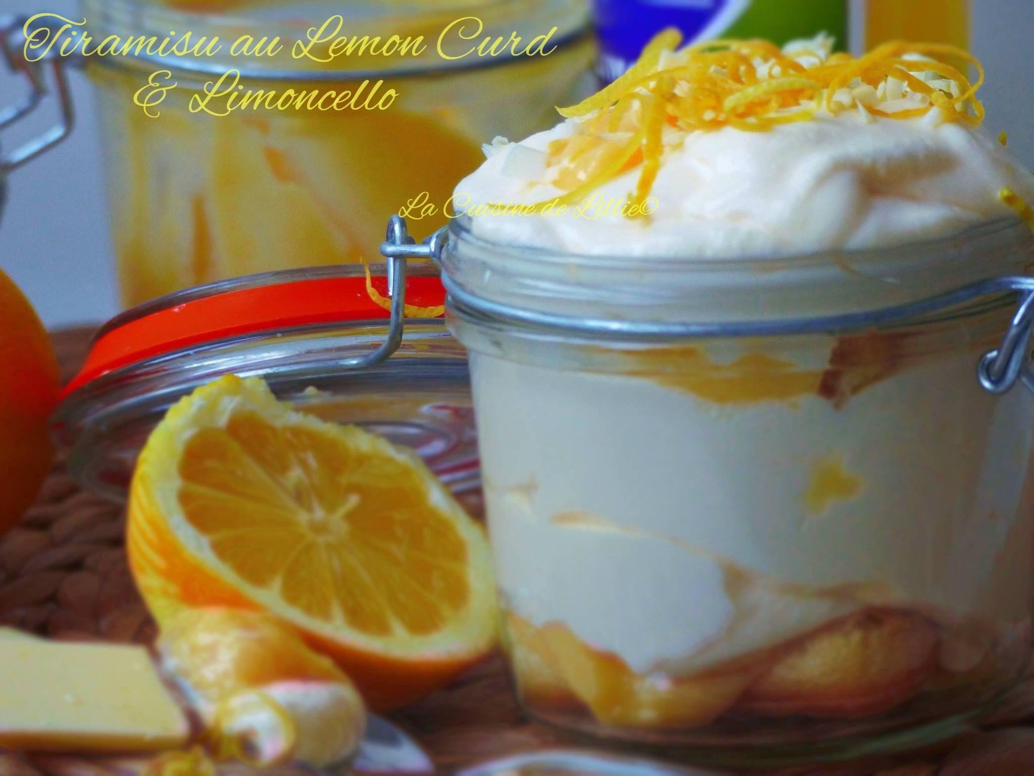 Tiramisu lemon