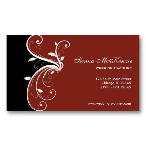 Swirl Wedding Planner Business Card Zazzle Com In 2021 Wedding Planner Business Card Wedding Planner Business Event Planner Business Card