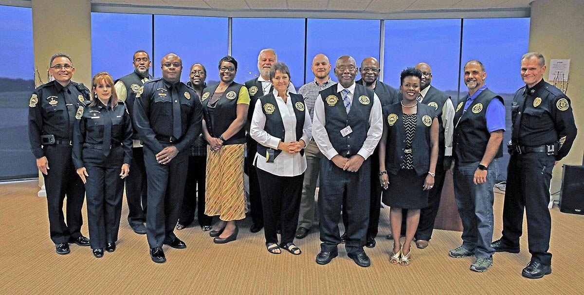 Clarksville police department recognizes clergy rapid