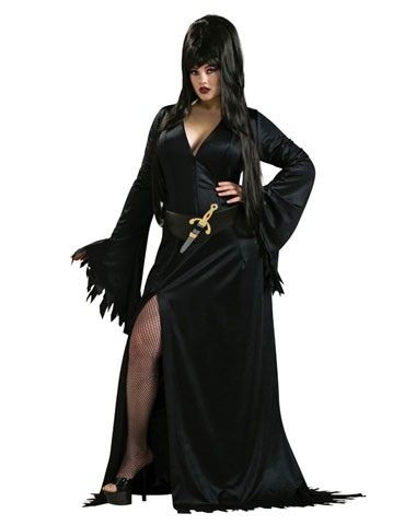 plus-size-halloween-costume-Elivira, Offered by wwwimlolnet - halloween costume ideas plus size