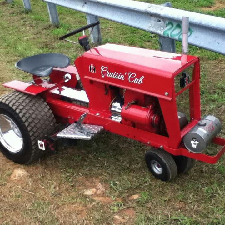 Cub Cadet Wonder What It Will Be When It Grows Up Farm Equipment Pinterest Tractor