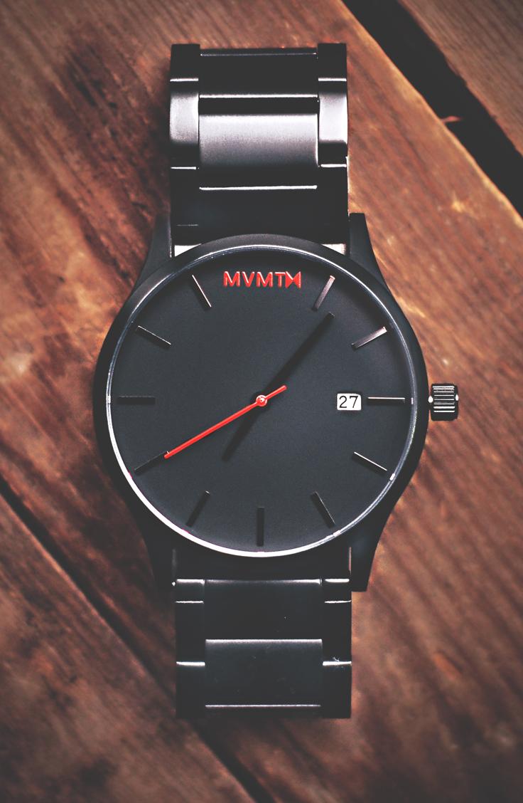 56e140e8e0c4 Black Link Watch | Men's - 45mm | Classic Series | My Style | Mvmt ...