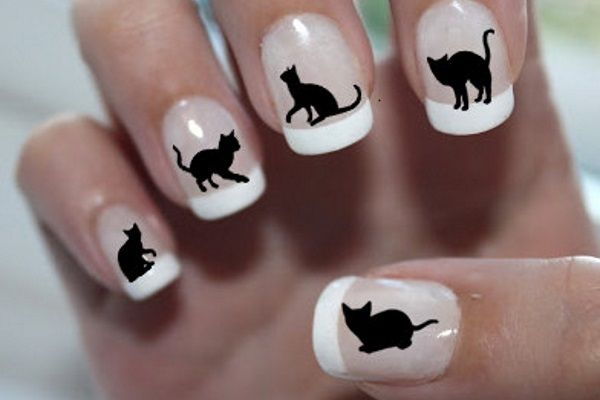 Fun nails - Pin By Candice Chisholm On Favorite Nail Art Pinterest Cat Nails