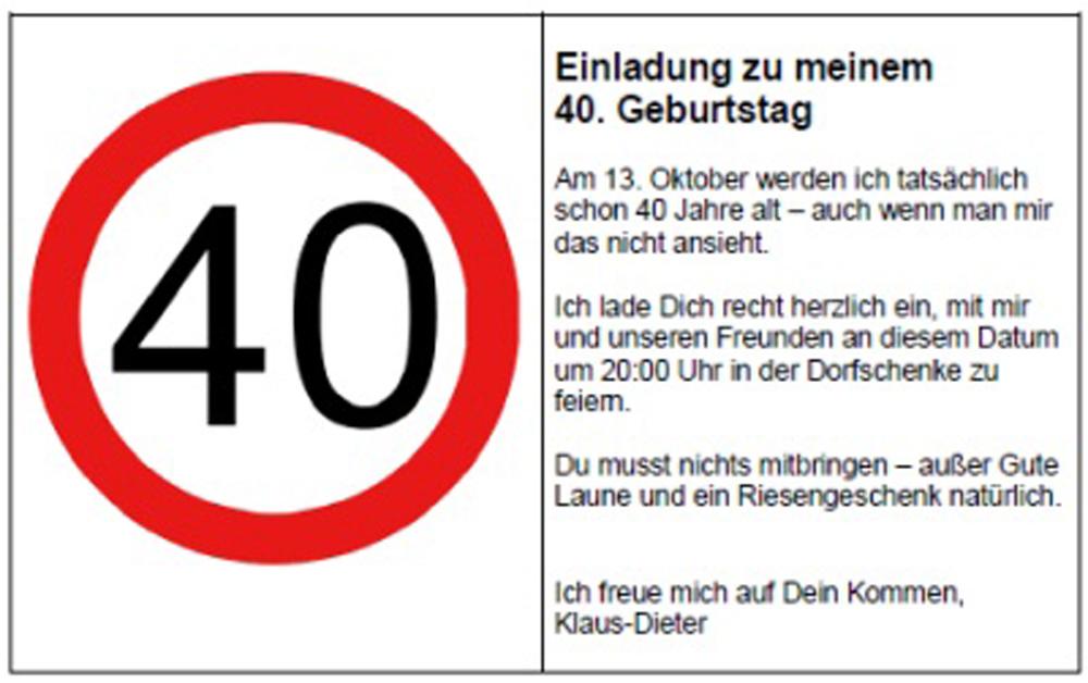 Einladung Zum 40 Geburtstag Mann Lustig Einladungen Geburtstag Einladung 40 Geburtstag 40 Geburtstag Einladungskarten Geburtstag Texte
