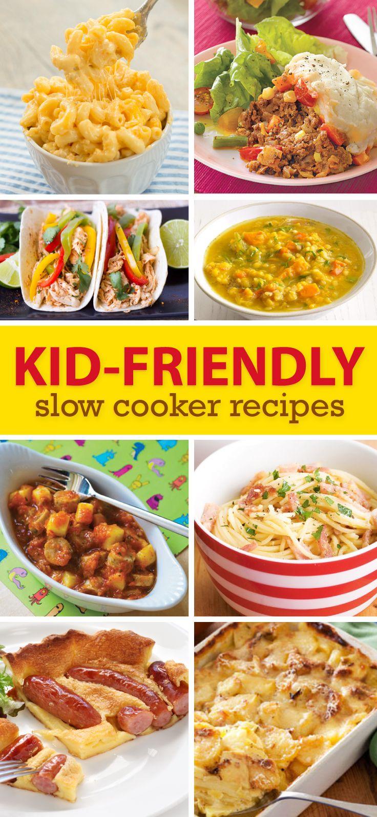 Slow Cooker Meals For Kids Slow Cooker Recipes Kids