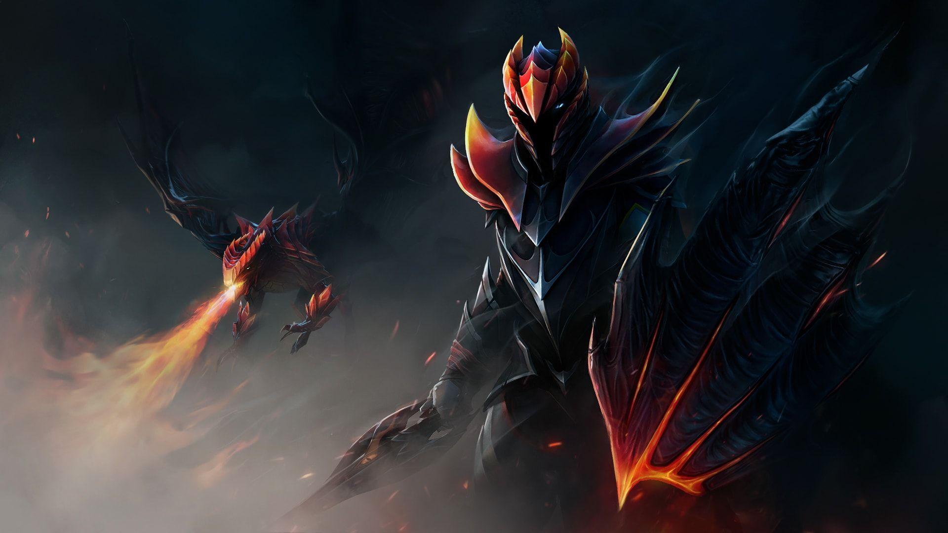 Dota 2 Dragon Knight Wallpaper Hd Dota 2 Dragon Knight
