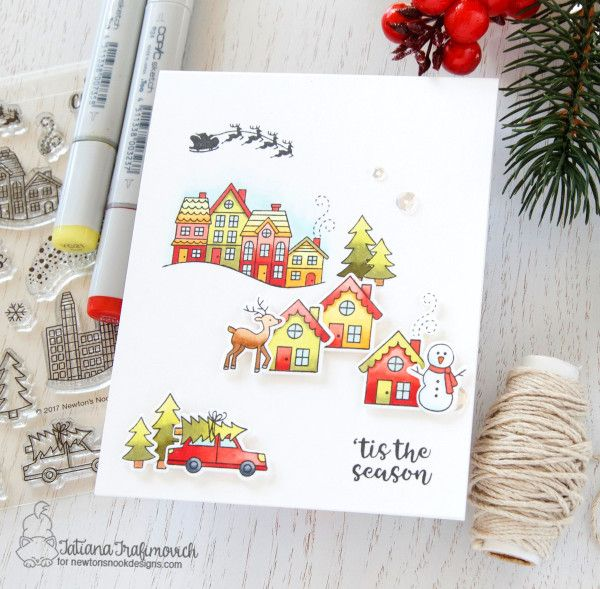 The great christmas giveaway set design