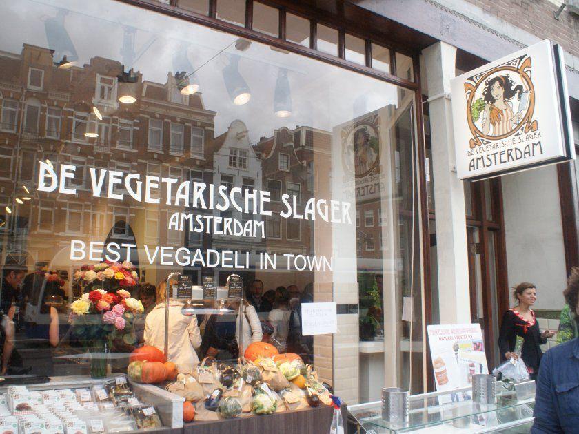 Dat is wel helemaal af! > Vegetarische Slager opent flagshipstore Amsterdam