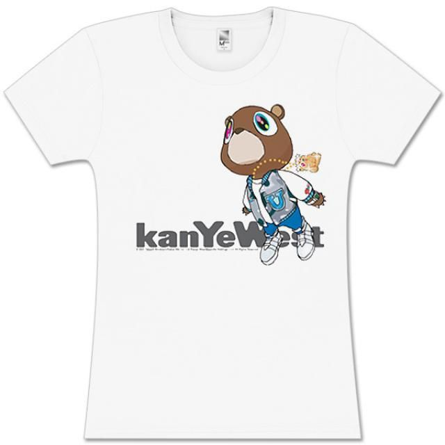 Check out Kanye West  Flying Bear Juniors Tee on @Merchbar.