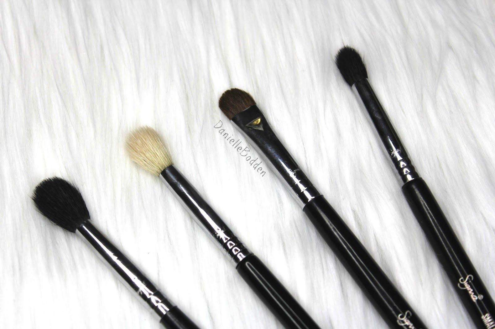 MUST have Sigma Beauty eye brushes! Danielle Bodden