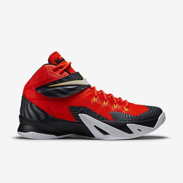 2ad6418ec9d Nike Zoom LeBron Soldier VIII Premium Men s Basketball Shoe. Nike Store