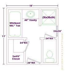 Image Result For 10x12 Master Bath Closet Bathroom Design Layout Bathroom Floor Plans Master Bathroom Floor Plans