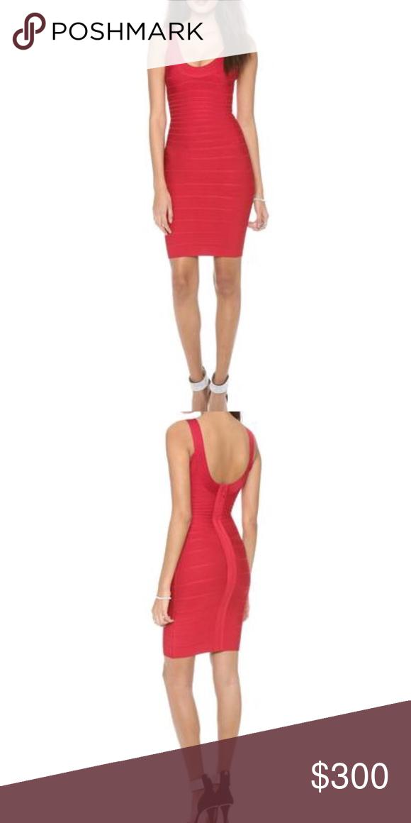 464259fa5ac1 Herve Leger • Sadie Bandage Dress Red Hot XS - Herve Leger - Authentic -