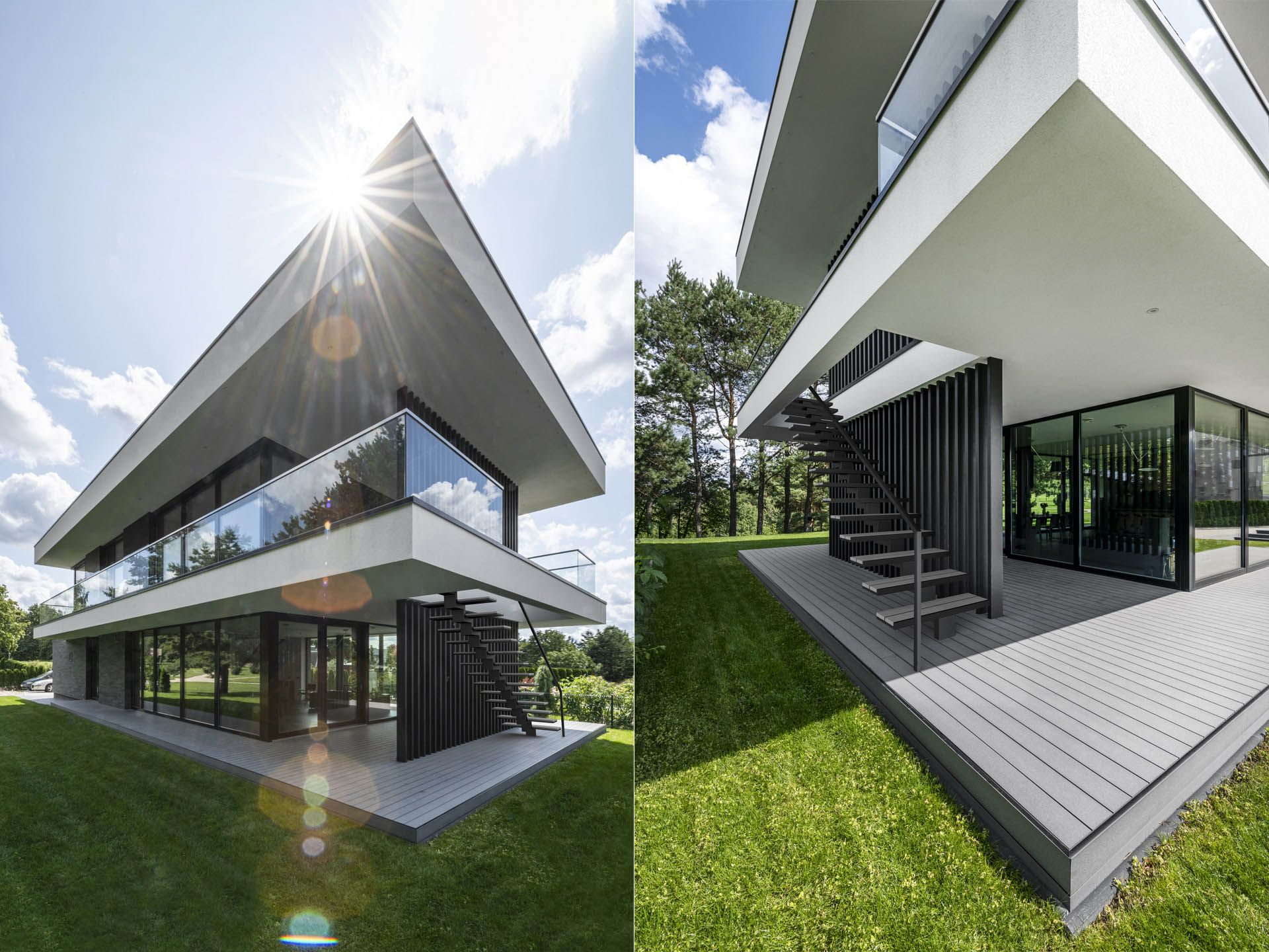 Panoramic View House Archlab Architecture House Design Panoramic