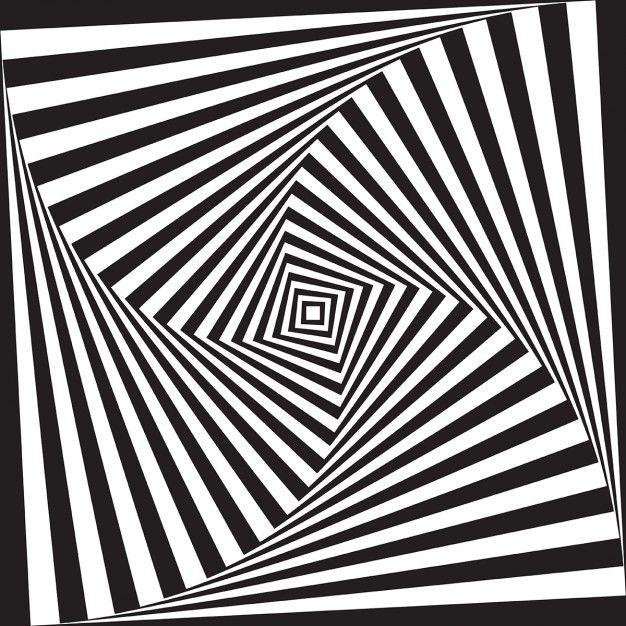 r u00e9sum u00e9 illusion d u0026 39 optique design fond noir et blanc