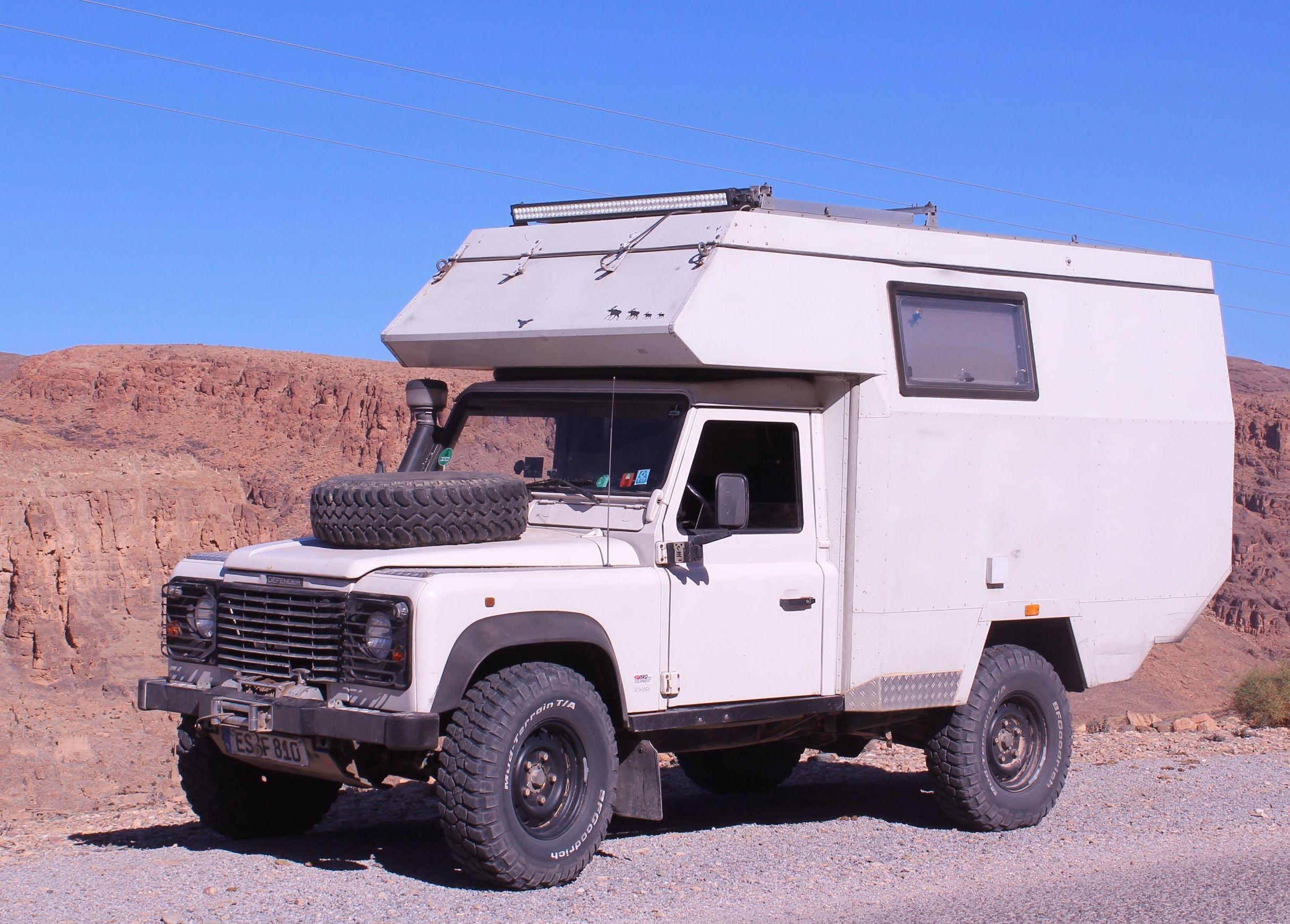 Landy Camper Basis Defender 110 Tdi Land Rover Land Rover