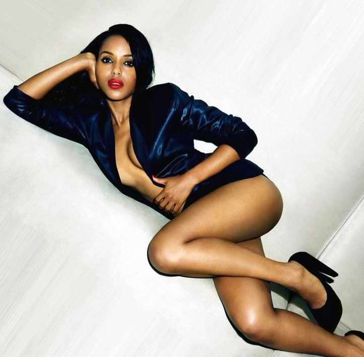 Kerry washington nude naked are mistaken