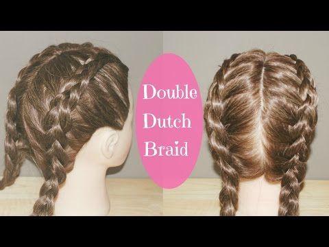 How To Double Dutch Braid Tutorial Youtube Double Dutch Braids