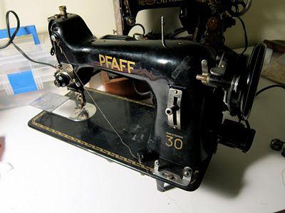 Love my old machine.