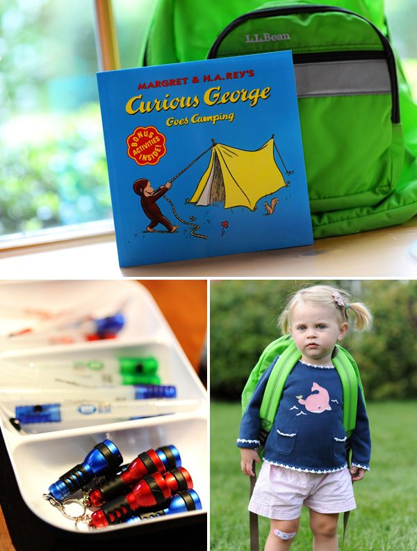A Camping-Inspired Birthday Party Adventure // Hostess with the Mostess®