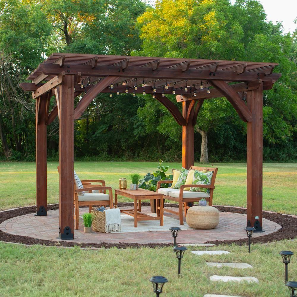 Backyard Discovery Sahara 12 ft. x 12 ft. Premium Cedar