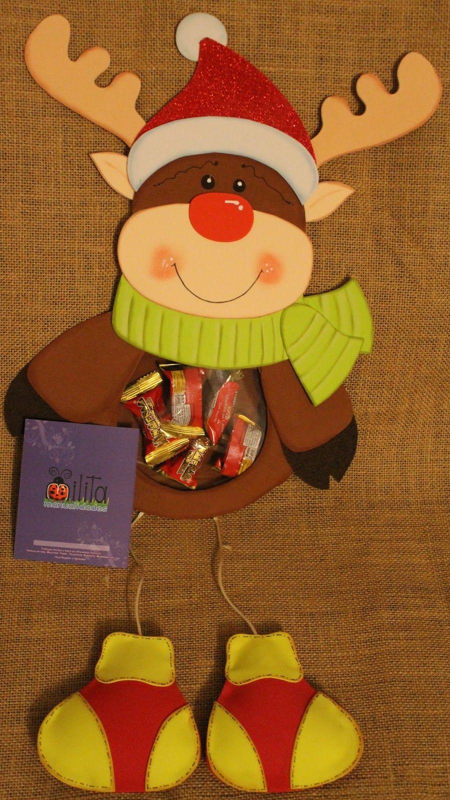 Trabajos manuales de navidad milita manualidades for Manualidades souvenirs navidenos