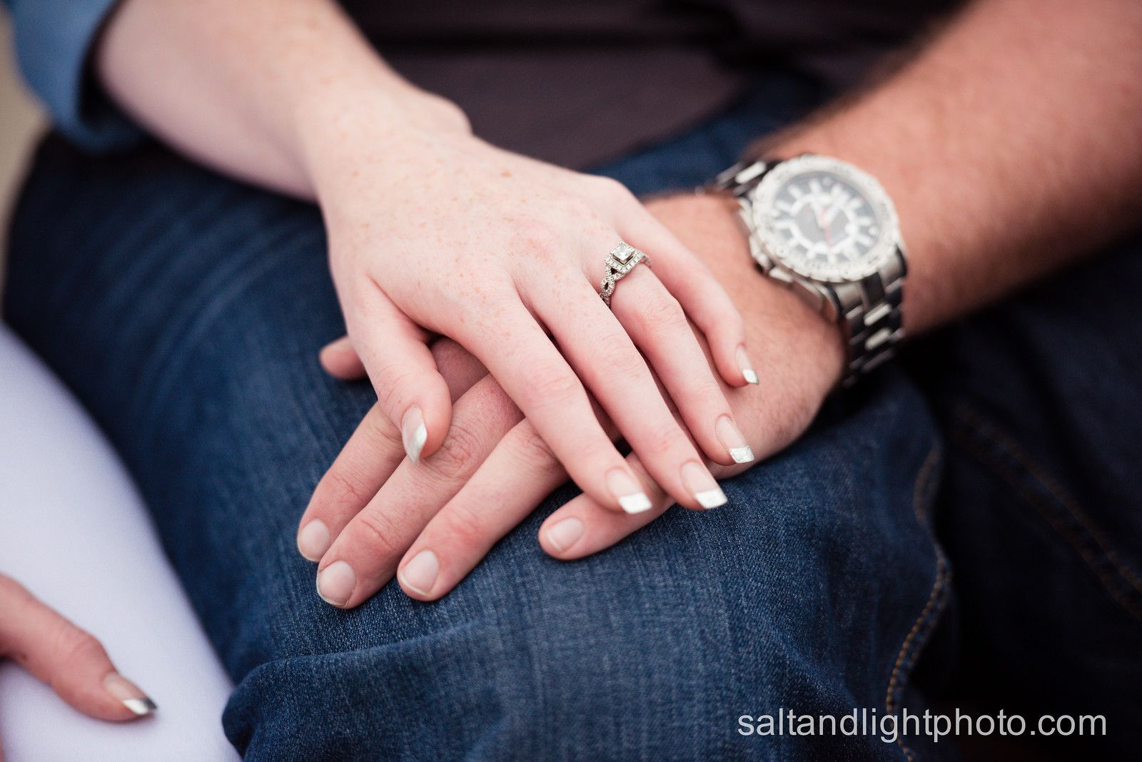 KC engagement pictures - wedding engagement ring engagement twist ...
