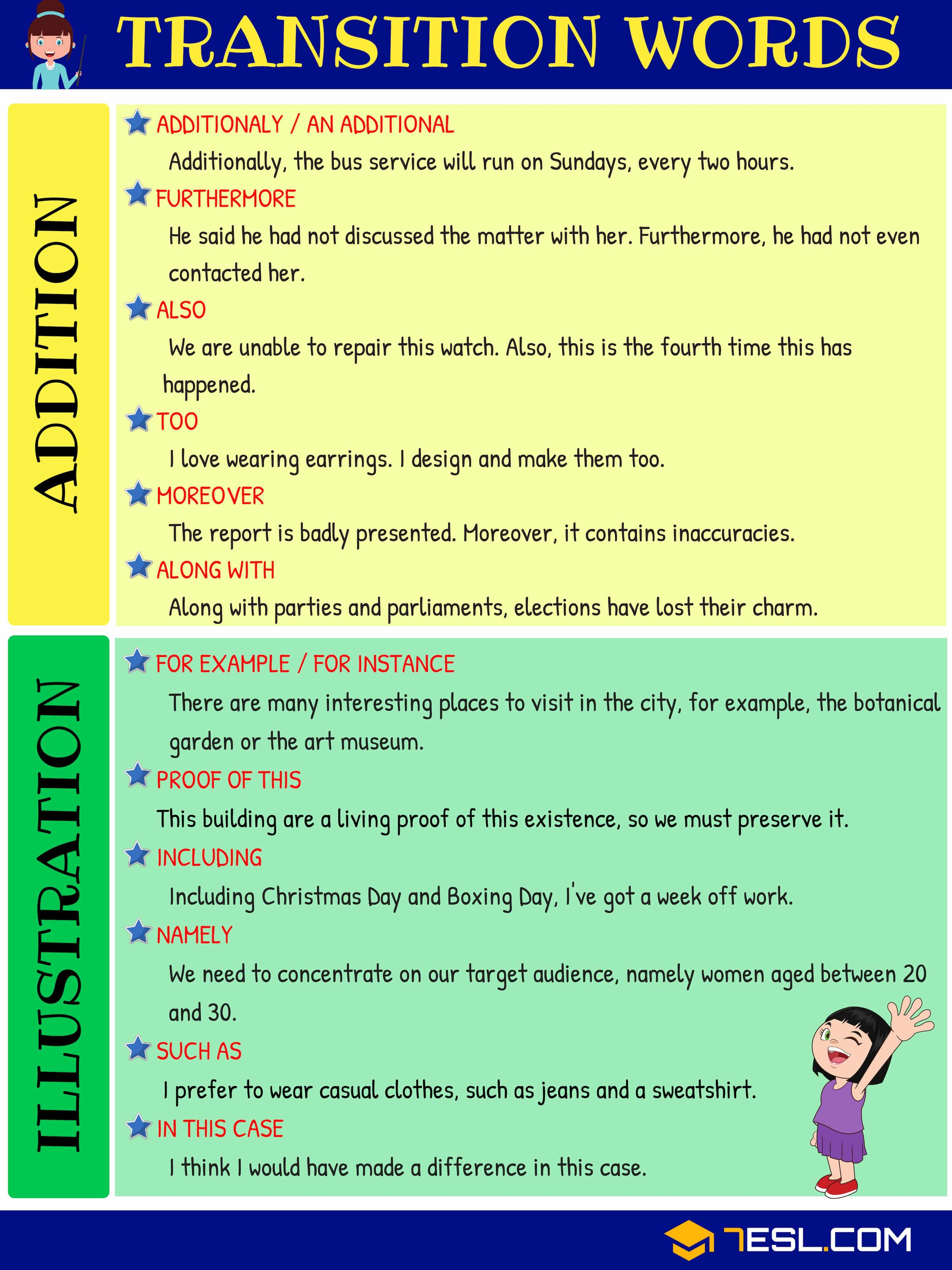 Writing Transitions Worksheet   Printable Worksheets and Activities for  Teachers [ 4000 x 3000 Pixel ]