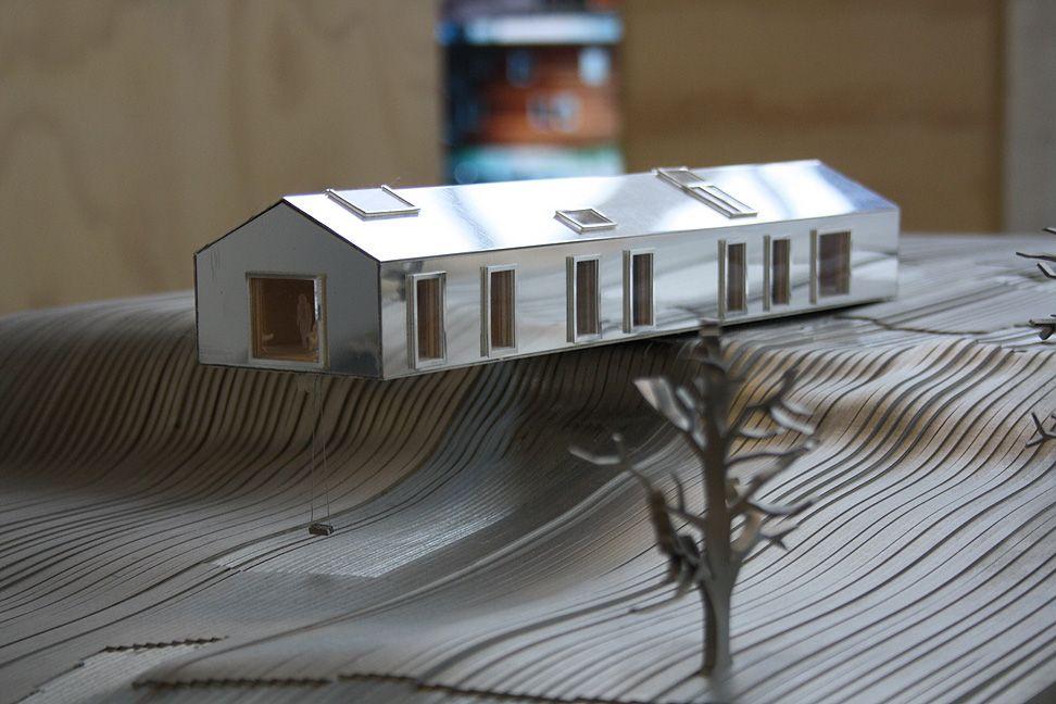 Balancing barn by MVRDV architects,  MVRDV exhibition at USM Bühl Germany