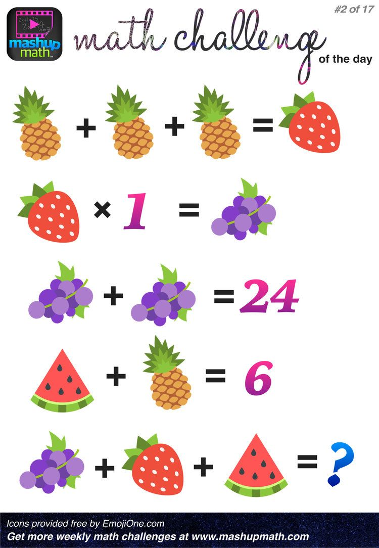 This is a photo of Influential Math Challenge Puzzles