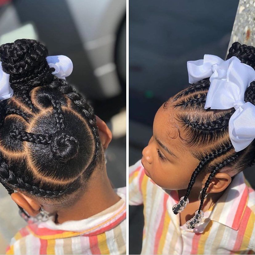 Pin On Little Ladies Hairstyles