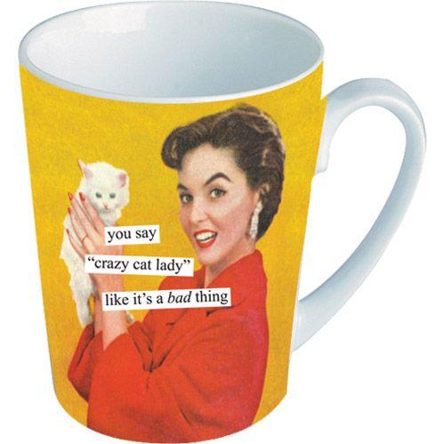 "Anne Taintor ""Cat Lady"" Mug"