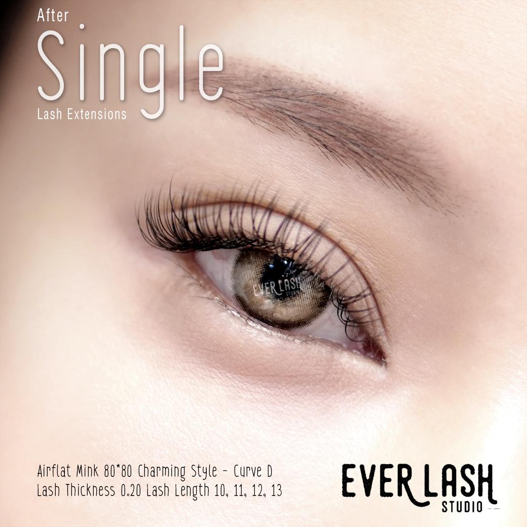 Single Lash Extensions ขนตา ต อขนตา การทำเล บ