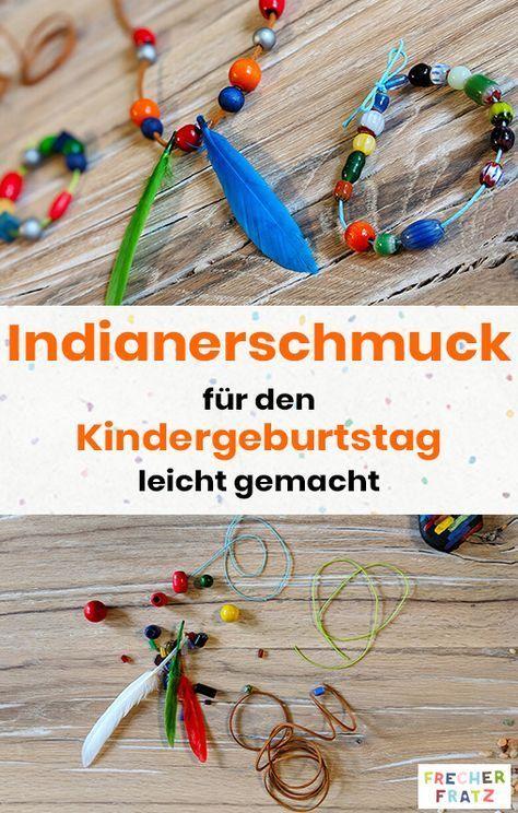 DIY Indianer Kindergeburtstag: über 50 Ideen und Bastelvorlagen | FRECHER FRATZ