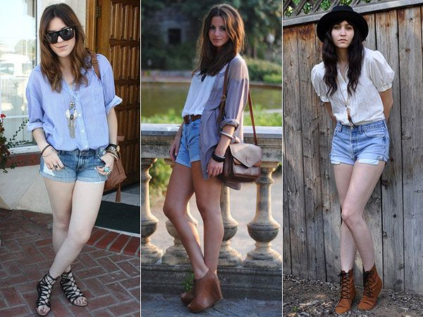 Como Usar: Short Jeans | Just Lia
