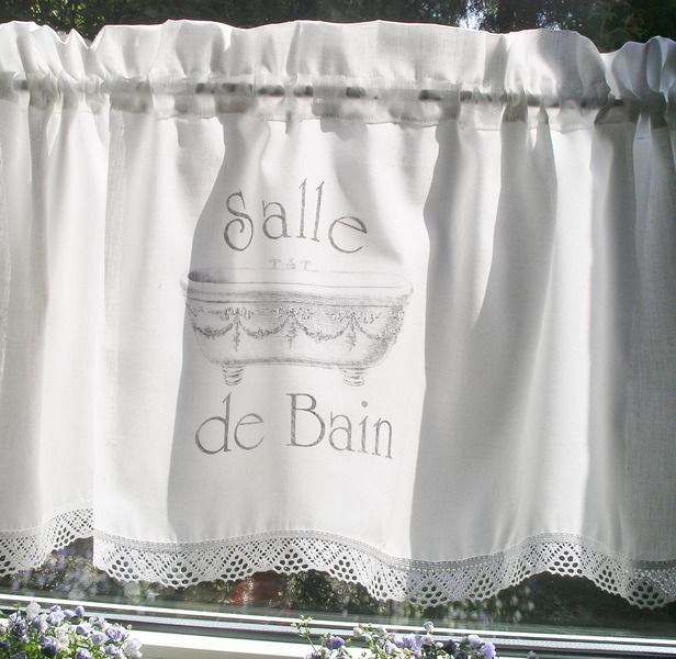 die besten 17 bilder zu curtain gardinen auf pinterest shabby sweet home und paris - Weie Gardinen Mit Grauen Sal