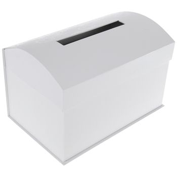 White Wedding Card Box Card Box Wedding Wedding Cards Cards
