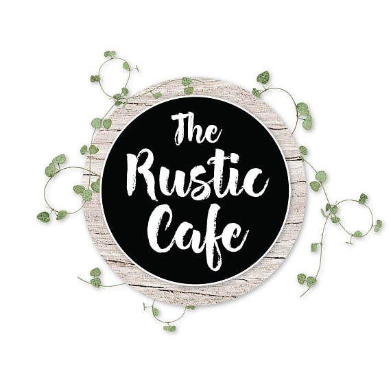 Logo Design, Rustic Logo, Shabby Chic Logo, Boho Logo