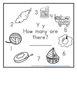 What a great way for your students to learn, sounds, and numbers by having their own books to take home. I made two different levels so that way it will challenge your advanced readers and allow your other children more time to practice.