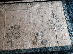 Another photo of my customer's Winter Wonderland quilt by ... : crabapple hill quilts - Adamdwight.com