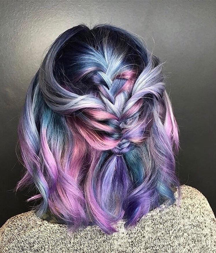Inspired Mermaid Haarfarben für 2019