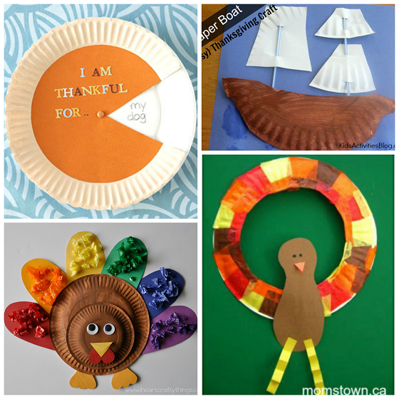 Here are fun thanksgiving paper plate crafts for kids to make! Find turkeys pumpkin  sc 1 st  Pinterest & Here are fun thanksgiving paper plate crafts for kids to make! Find ...